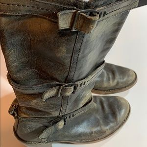 Frye Boots Woman's Size 8 Wide Calf